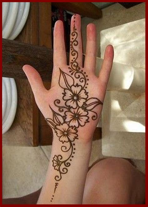 simple henna designs for hands step by step hijabiworld mehndi design easy step by step wonderful image