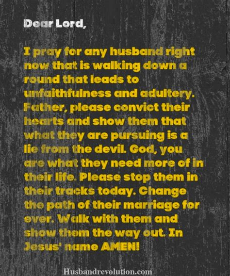 prayer  thoughts  adultery husband