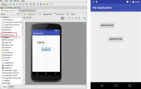 android studio relativelayout id androidアプリ開発のlayout レイアウト の使い方 techacademyマガジン
