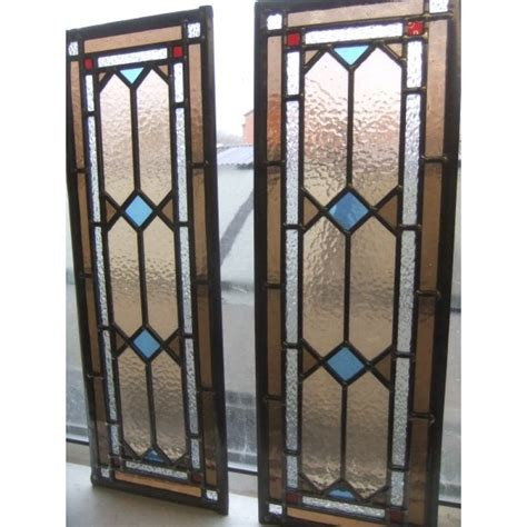 Beveled Glass Door Panels Exles Of Overhead And Side For The Mosaic Door