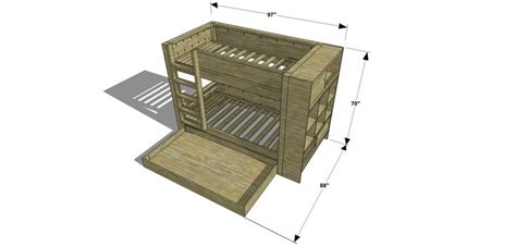 trundle bed plans how to build a trundle bed plans woodworking projects