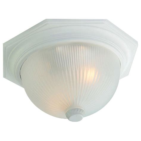 Ceiling Light Texture Westinghouse 1 Light Black Flush Mount Exterior Fixture With White Glass Globe 6684000 The