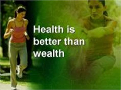 better than power point esl powerpoints health is better than wealth