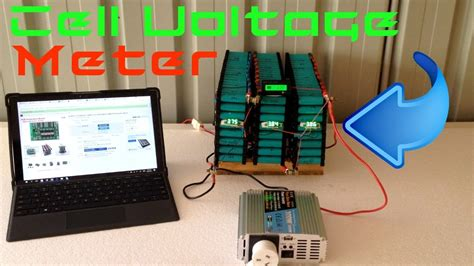 diy tesla powerwall diy tesla powerwall cell volt meter update 15 youtube