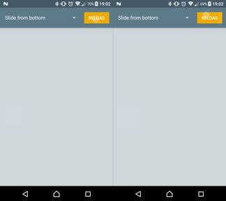 recyclerview layout animation enter animation using recyclerview and layoutanimation