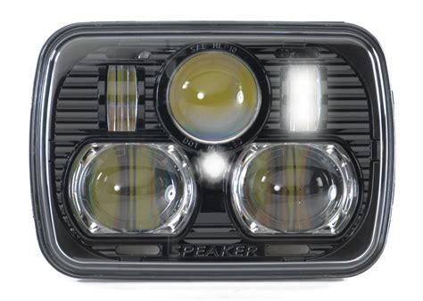 Jeep Yj Headlights J W Speaker 8900 Led Headlight Kit For 84 01 Jeep
