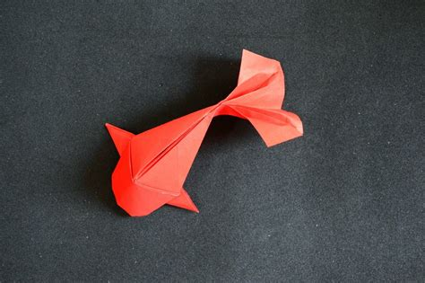 How To Make Koi Fish Origami - papercraft origami fish koi riccardo foschi