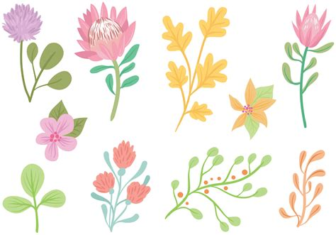 vector pattern pastel free free pastel flowers vectors download free vector art