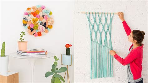 wall diy projects 14 diy wall projects for who can t paint