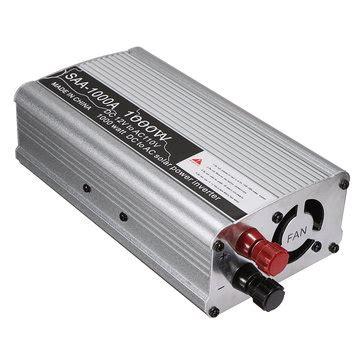 Dijamin Power Inverter 1000w Dc 12v To Ac 220v 1000 Watt solar power inverter 1000w 12v dc to 110v ac modified sine wave converter sale banggood