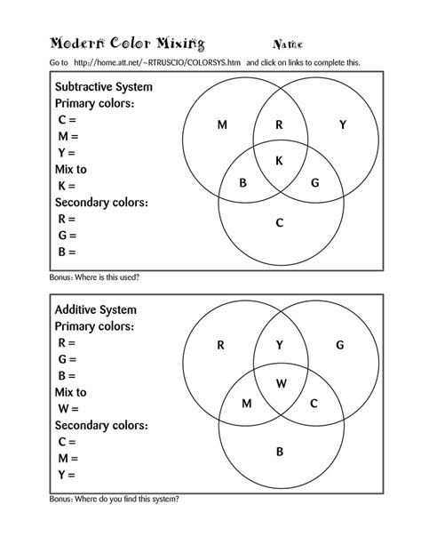 color theory worksheet 19 best images of color theory worksheets color theory