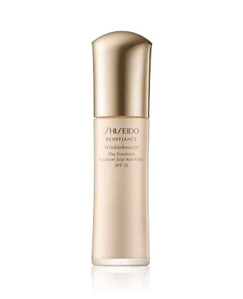 Benefiance Wrinkle Resist 24 Day Spf 15 50ml shiseido benefiance wrinkleresist24 day emulsion spf15 75