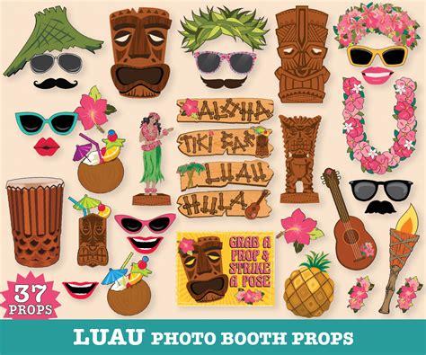 printable luau photo booth props hawaiian luau photo booth props luau props tropical