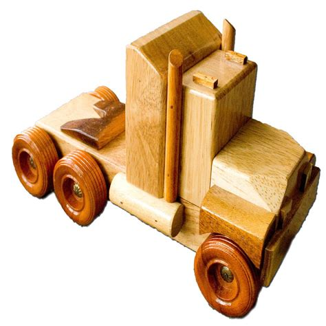 Handmade Wooden Trucks - ct3 b handmade wooden truck country toys