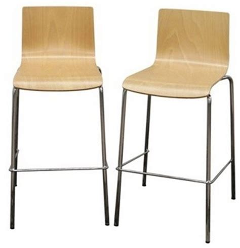 Molded Plywood Bar Stool by Ritz Stackable Molded Plywood Bar Stool Footstools And