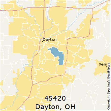 zip code map dayton ohio best places to live in dayton zip 45420 ohio