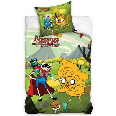 adventure time bedding adventure time single duvet cover and pillowcase set