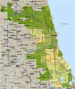 Chicago Safety Map by Dangerous Areas In Chicago Map