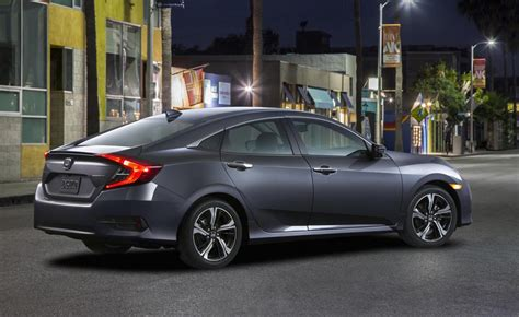 honda civic 2016 coupe 2016 honda civic sedan unveiled gets 1 5l turbo