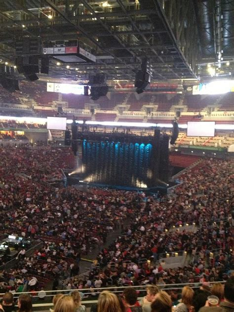 concert seats kfc yum center section 209 concert seating
