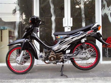 Motor Shogun 110 modifikasi motor suzuki shogun 110 keren terbaru otomotiva