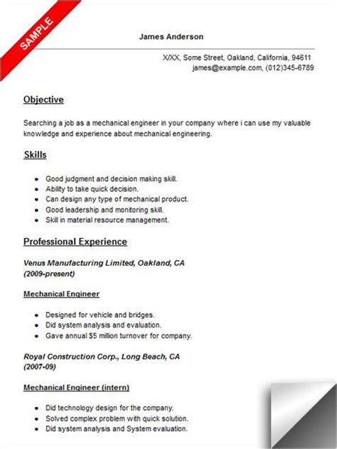 Resume Exles Electrical Engineering 10 best images about best electrical engineer resume