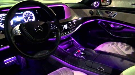 light pink mercedes 2014 mercedes s63 amg amazing interior lighting
