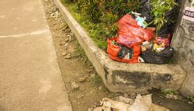 Acrylic Depok plastic bag trash royalty free stock photos image 16282408
