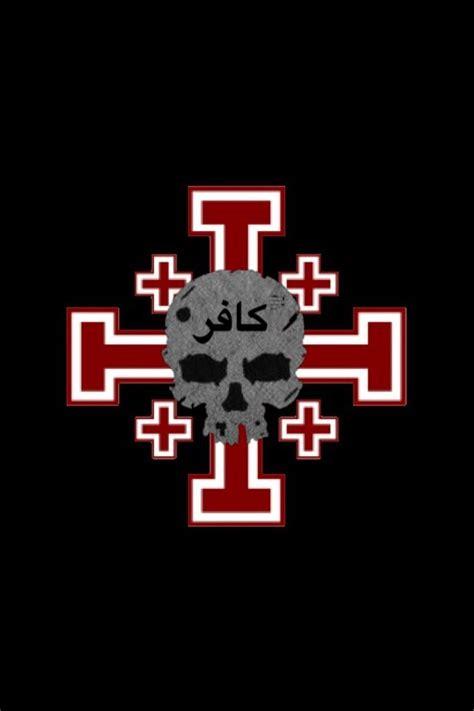infidel crusader cross infidels infidel tattoo