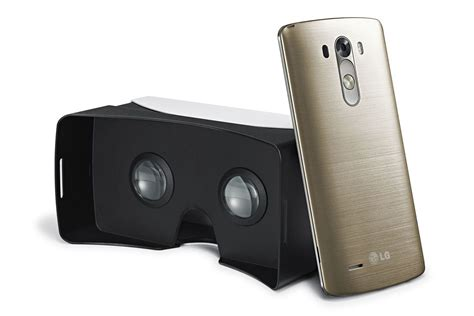 Vr Lg G3 Lg Has Its Own Reality Headset For The G3 Smartphone