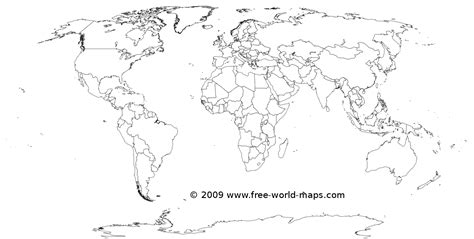 transparent world map image printable white transparent political blank world map c3 png