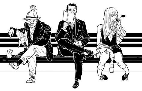 how to draw people sitting on a bench how new city benches are making this an excellent city for