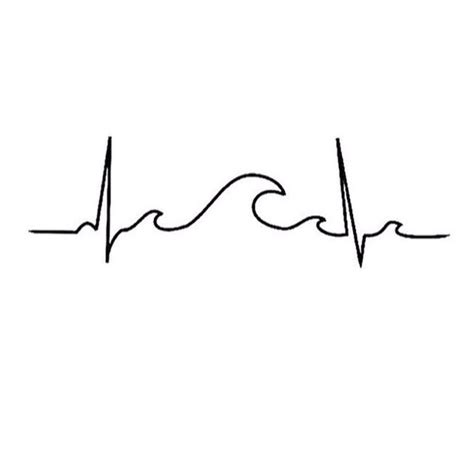 heartbeat surf tattoo chloe ciesla on twitter quot my heart beat ocean wave