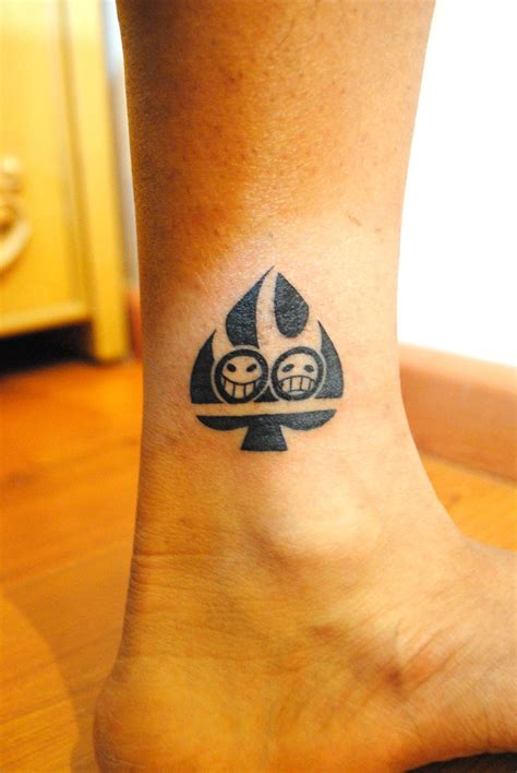 one piece ace tattoo change portgas d ace tattoo by wondergunner on deviantart