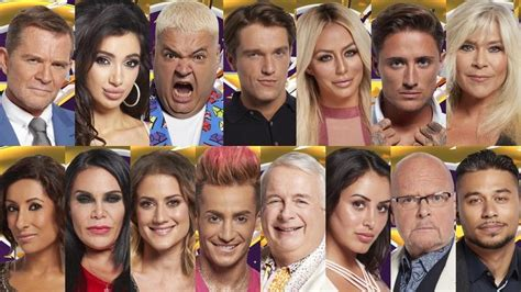 celebrity big brother 2016 contestants which stars are celebrity big brother poll who s your early favourite of
