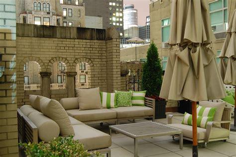 nyc hotel with balcony terrace suite the benjamin w hotel new york city one sweet terrace i spy nyc