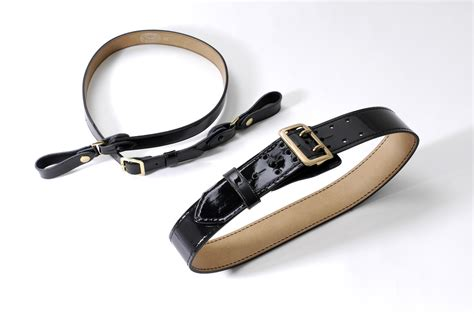 sam browne clarino belt