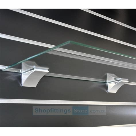 Shelf Panels by Slat Panel Glass Shelf Bracket