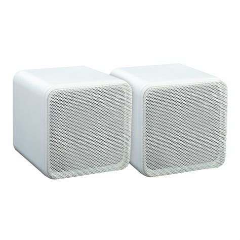Speaker S11musik Mini Box e audio e audio 4 range 80w dual cone mini box speakers white pair vinyl at juno records