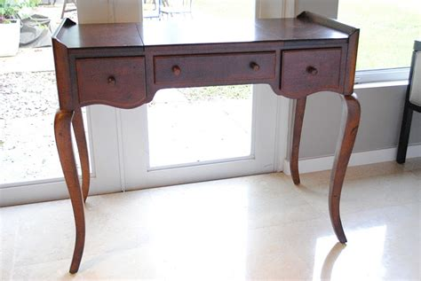 Used Vanity Table by Jandjhome Painted Vanity Table