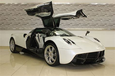 pagani huayra carbon white and carbon fiber pagani huayra for sale in dubai