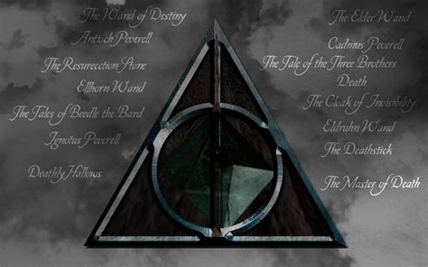 Deathly Hallows Symbol Wallpaper