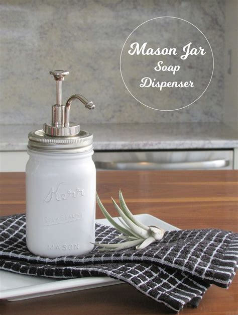 Painted Bathroom by Diy Mason Jar Soap Dispenser