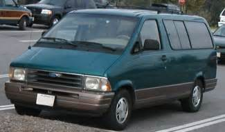 ford aerostar burnout