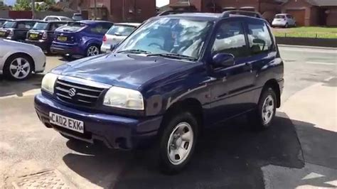 Suzuki Vitara 3 Door For Sale Suzuki Grand Vitara 16v Sport 1 6 Petrol 3 Door 4x4 With