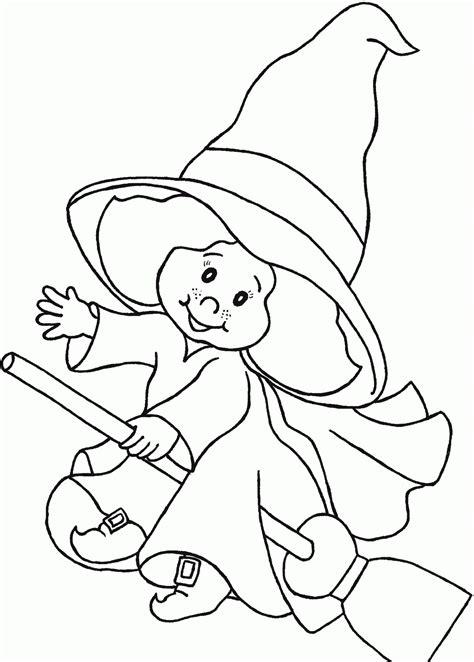 imagenes de xantolo y halloween dibujo de bruja para ni 241 os para colorear y pintar