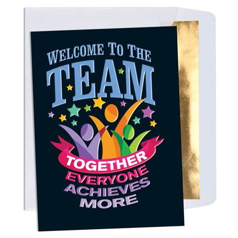 Home Welcoming Gifts Welcome To The Team Together Everyone Achieves More
