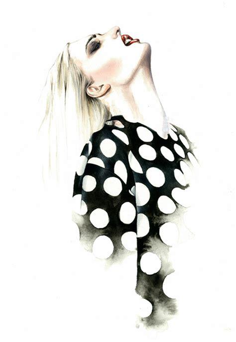 fashion illustration painting antonio soares mcarthur