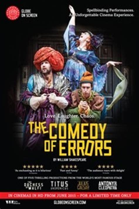 film comedy of errors shakespeare s globe theatre the comedy of errors miami