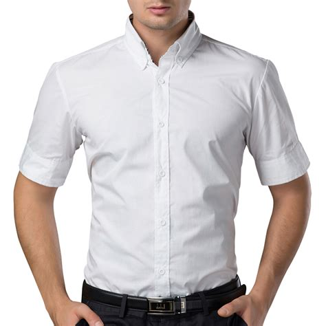 Kemeja Putih aliexpress buy free shipping fashion brand slim fit mens shirts sleeve business